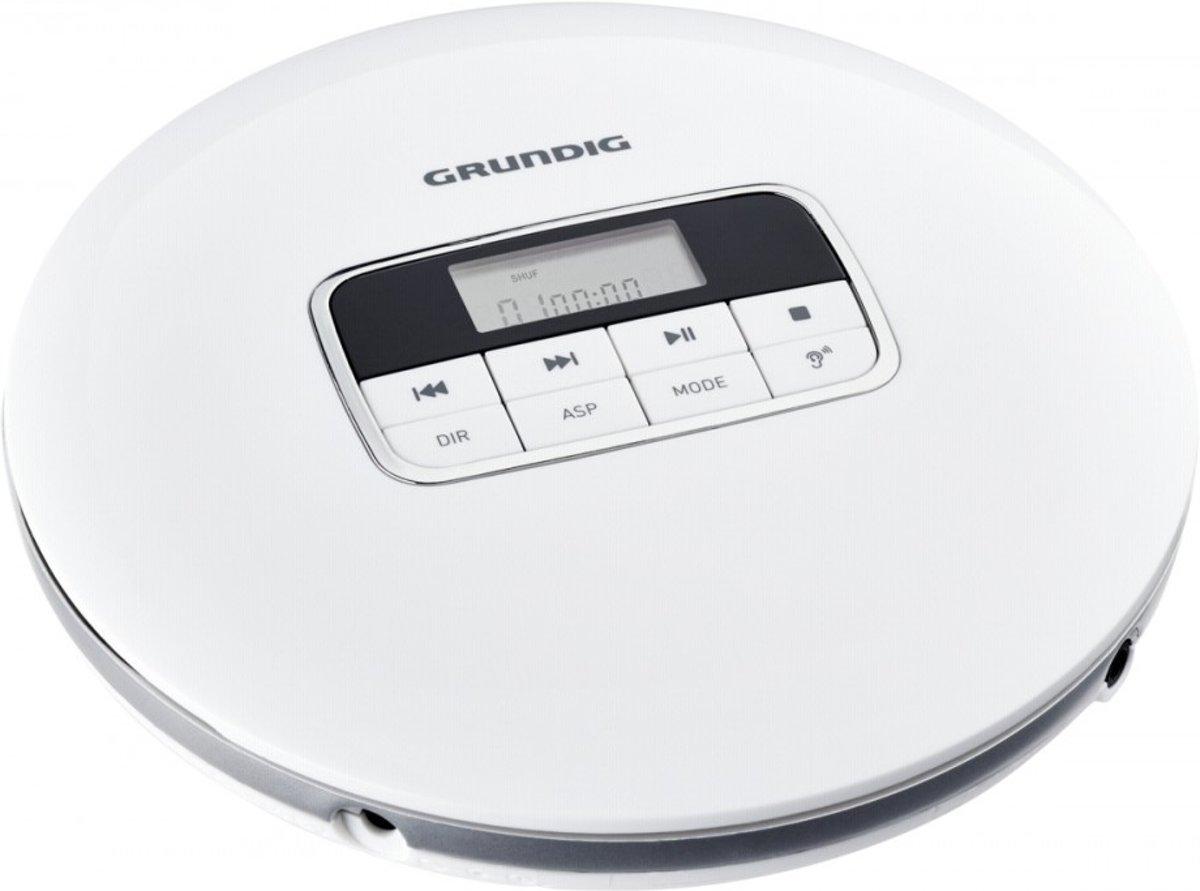 Grundig GCDP 8000 Portable CD player Zilver, Wit