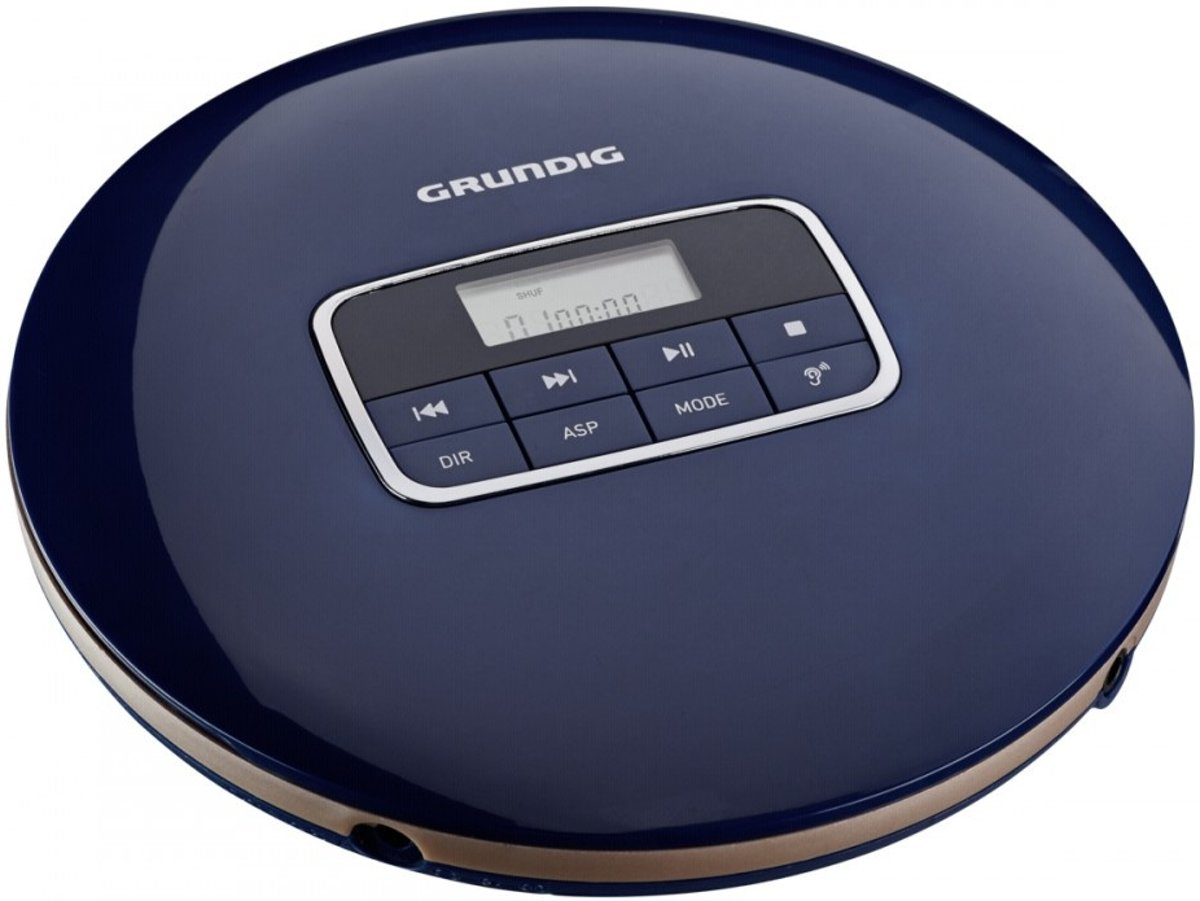 Grundig GCDP 8000 Portable CD player Blauw