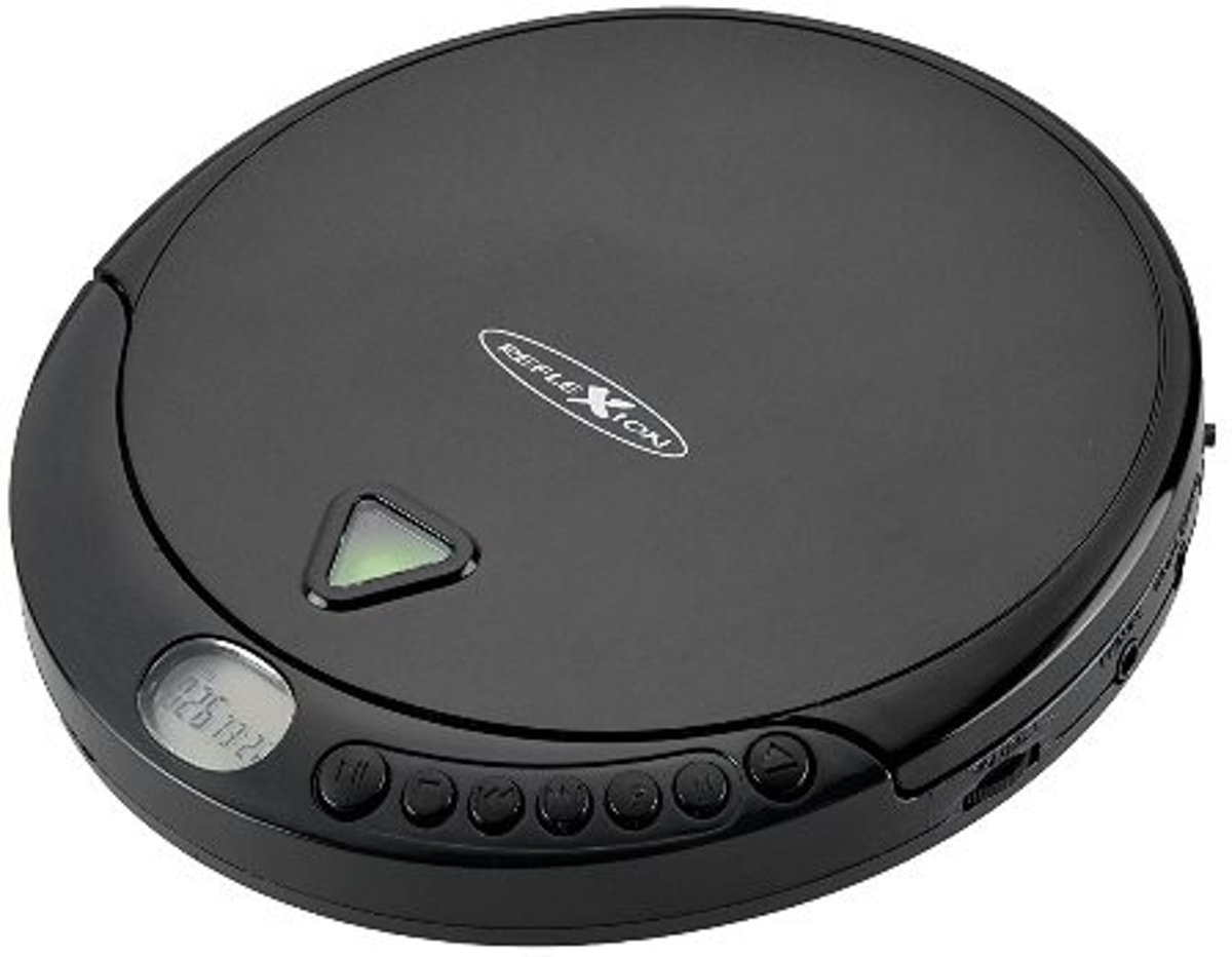 Reflexion PCD510MF Personal CD player Zwart