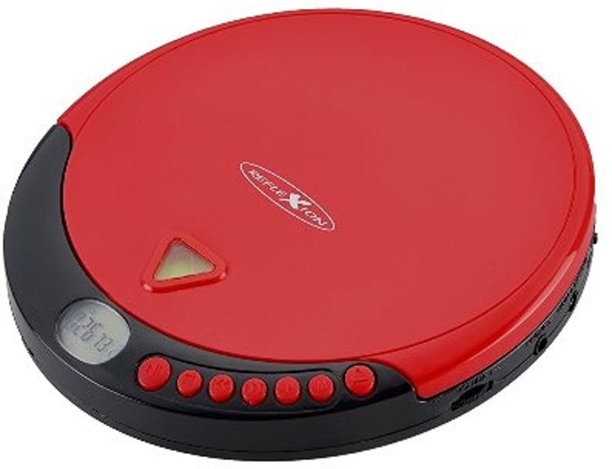Reflexion PCD510MF Personal CD player Rood