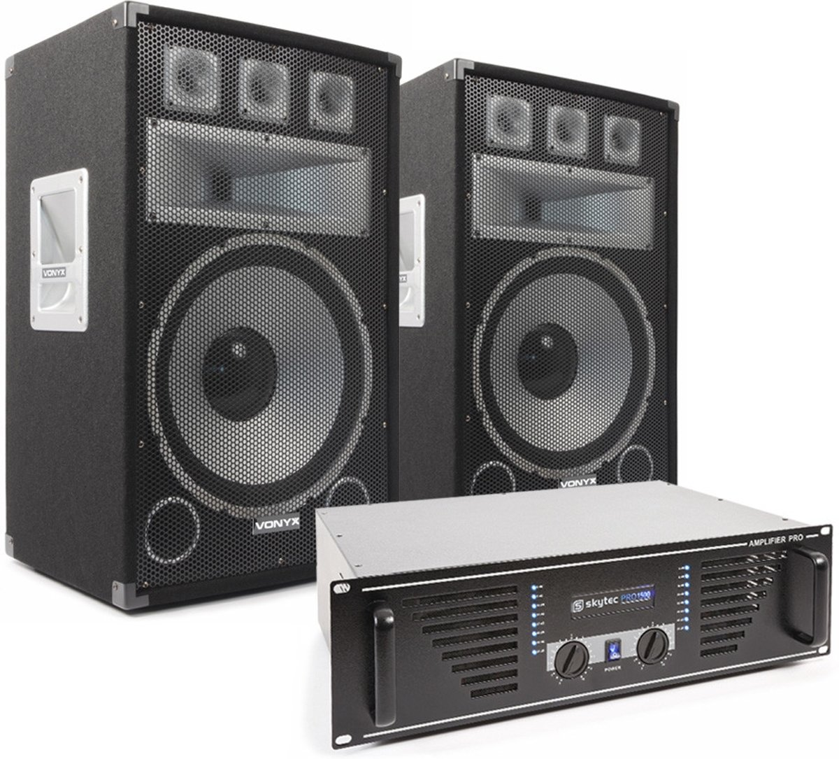 Vonyx TX15 Speakerset 15