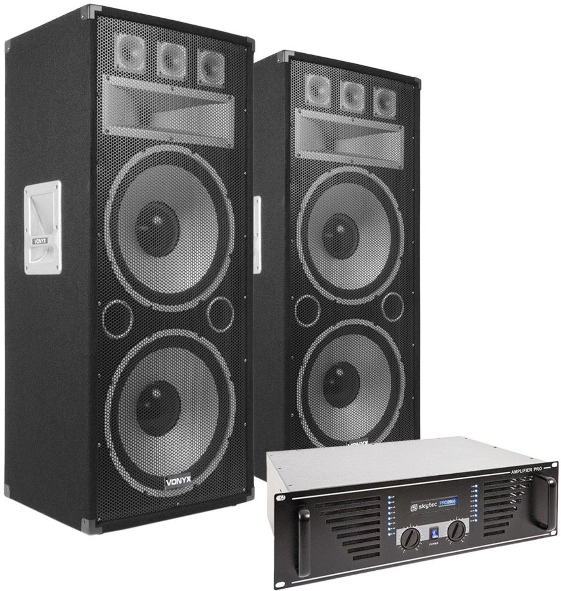 Vonyx TX215 Speakerset 2x 15