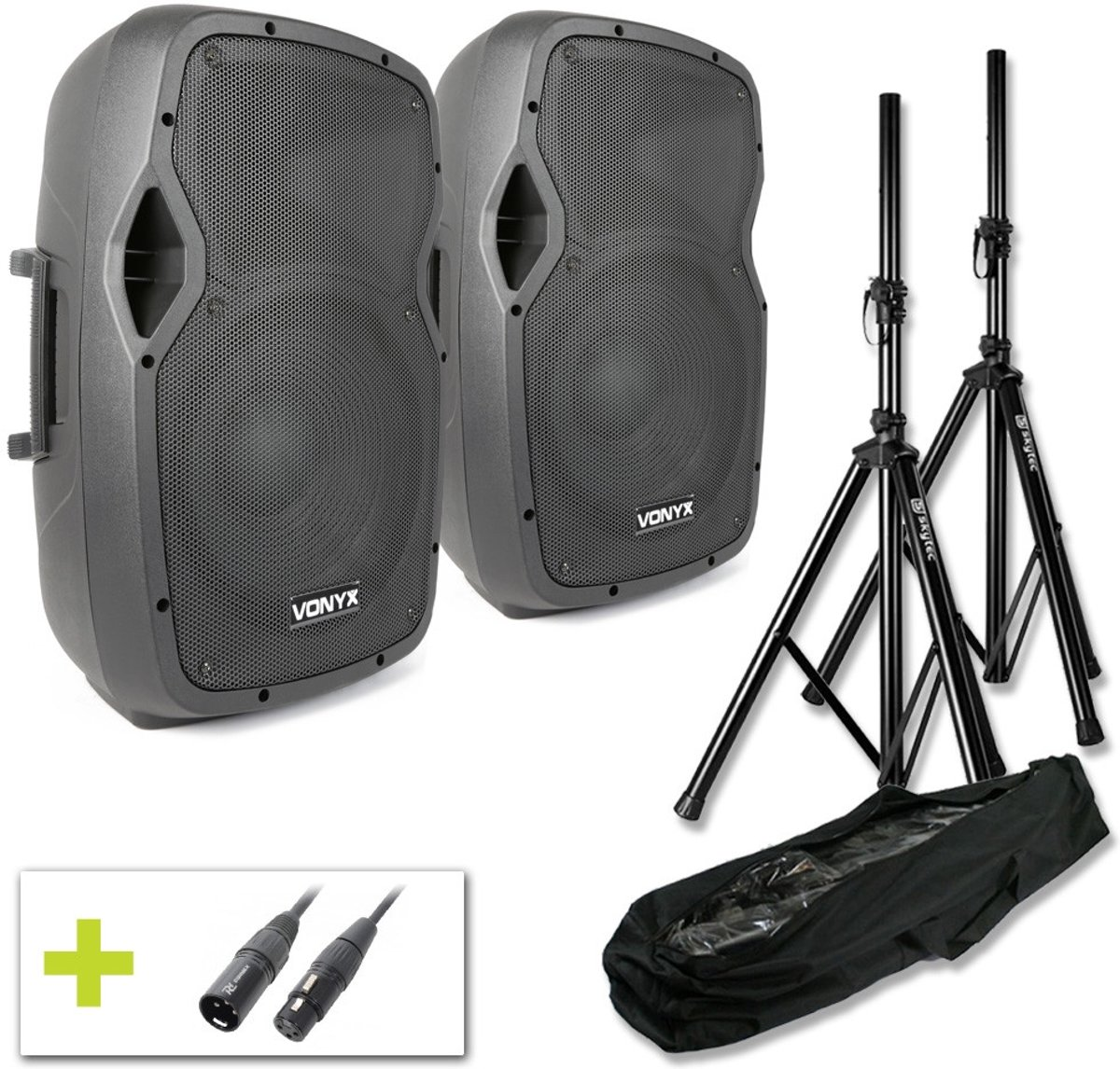 Vonyx AP1200A Actieve speakerset