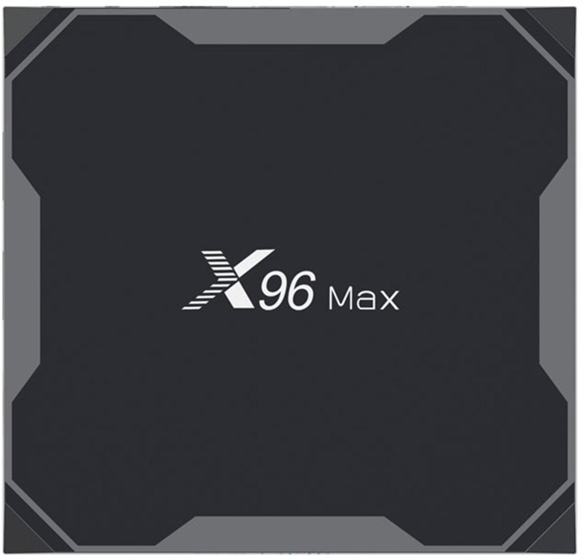 X96 Max 4/32 GB 4K Android 8.1/ Met Kodi 17.6, Netflix, Youtube, Miracast, Play store / Snelle 4K ondersteuning/ 4GB werkgeheugen