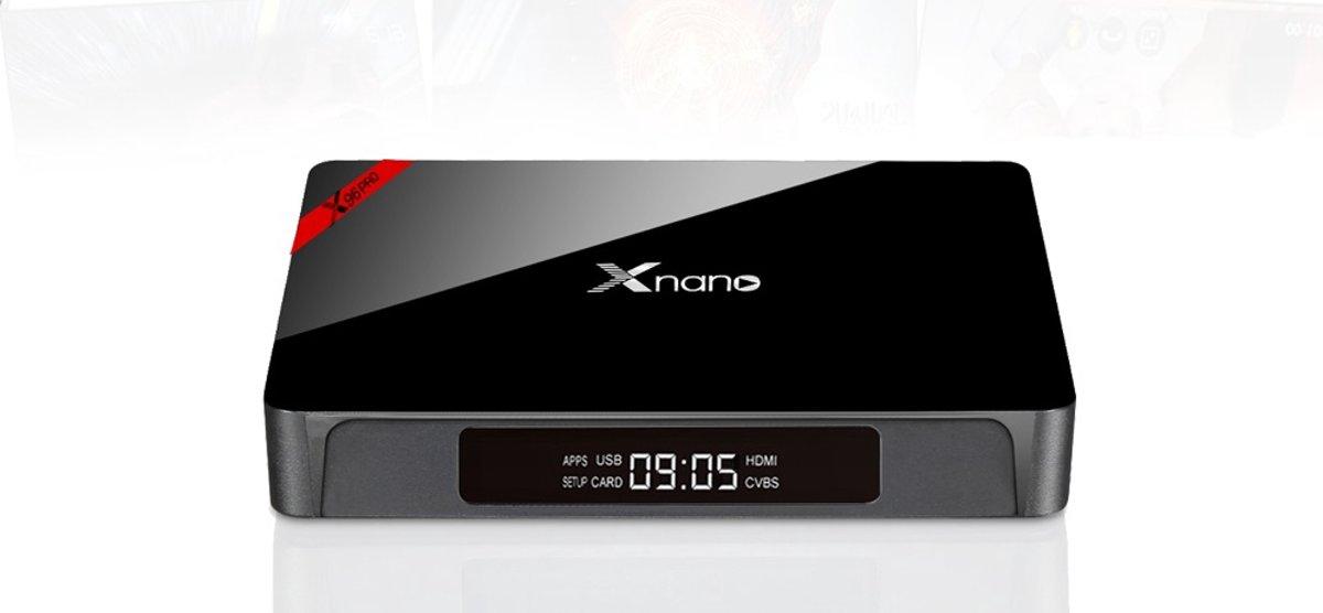 X96 PRO Android TV Box 16GB + Rii i8 Toetsenbord Wit - KODI XBMC