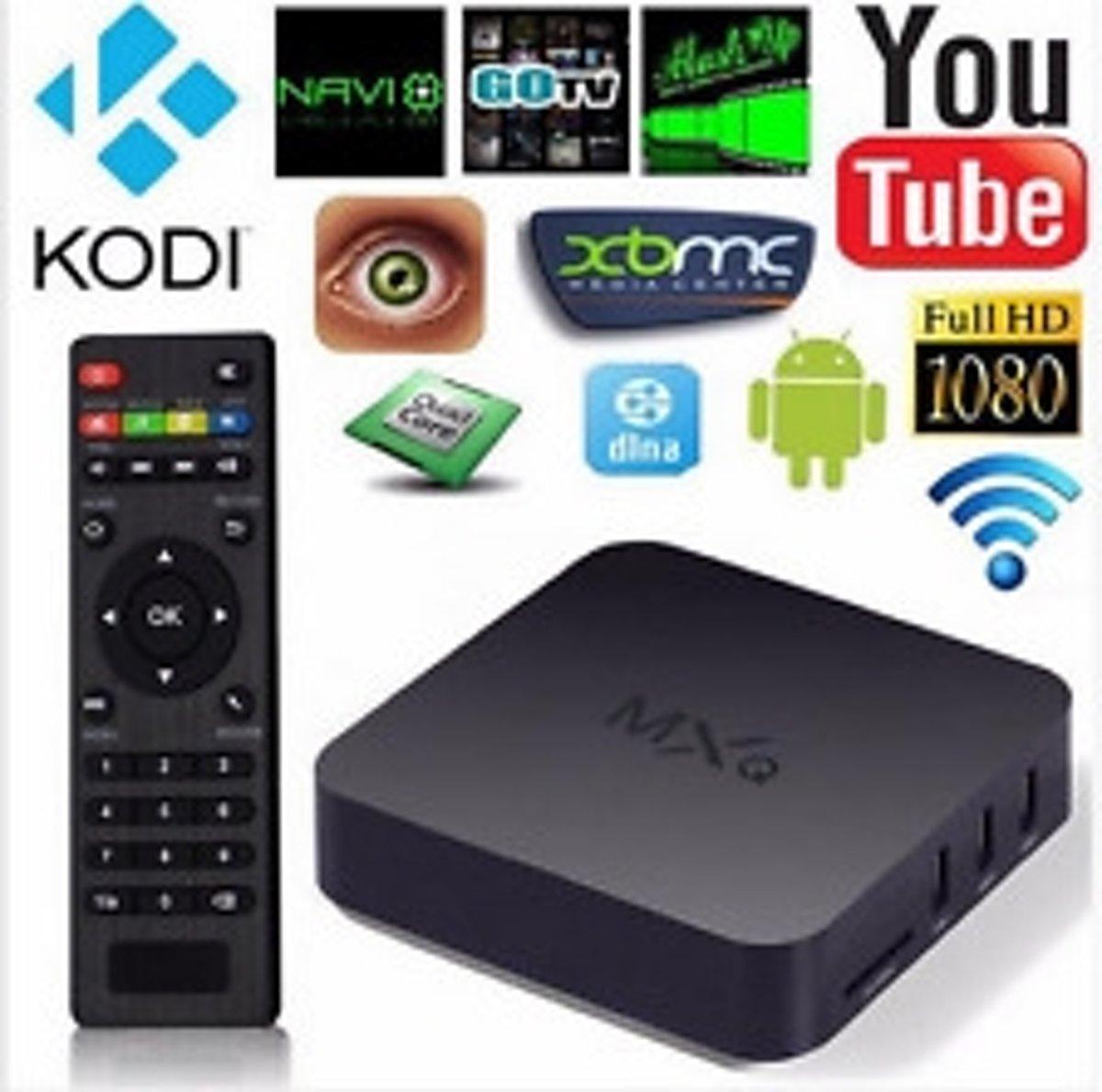 Android tv box MXQ + Kodi 16.1
