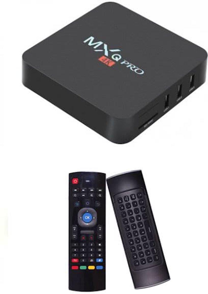 MXQ PRO 4K Android tv box + Kodi 17.1 + GRATIS MX3 Air Mouse