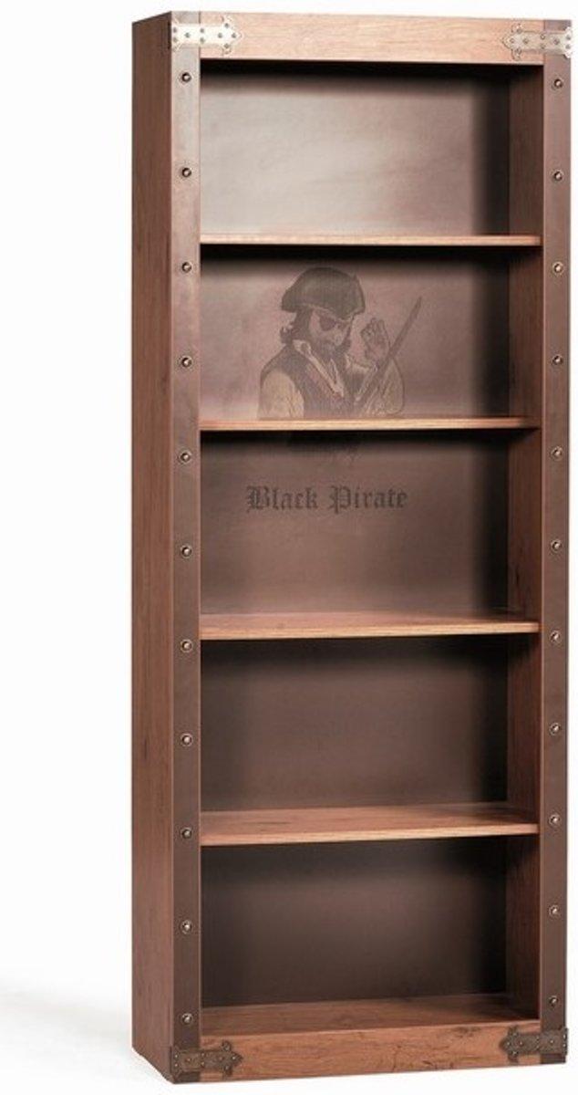 Black Pirate boekenkast piratenkamer