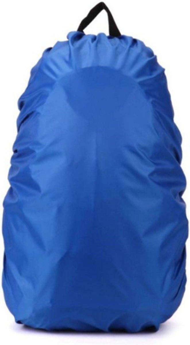 Blauwe 35 Liter Travelbag - Regenhoes - Rugzak Cover - Backpack Beschermhoes - Uniseks
