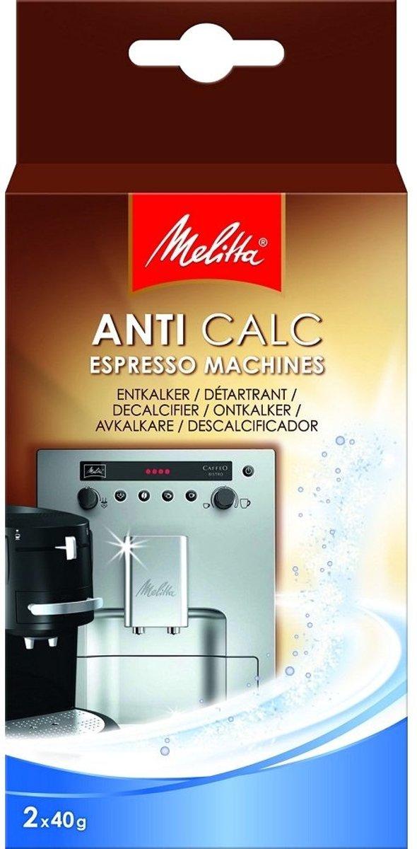Melitta Anti Calc Espresso ontkalker Huishoudelijke apparaten Poeder