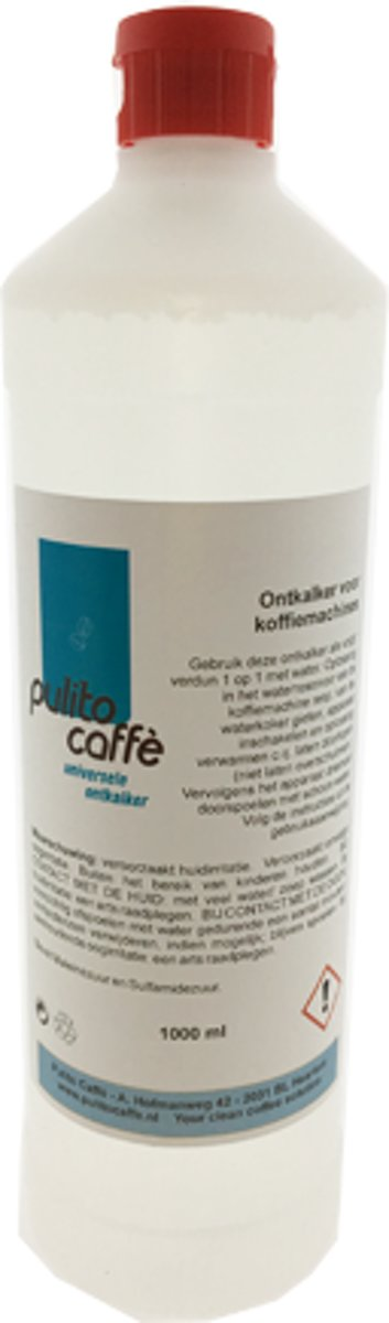 Pulito Caff?  Universeel - Koffiemachineontkalker