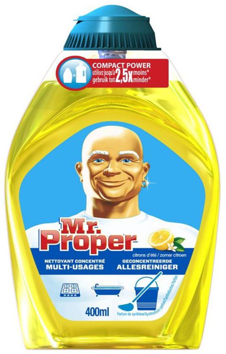 Mr. Proper Zomerse Citroen - 10x400ml - Allesreiniger - Voordeelverpakking