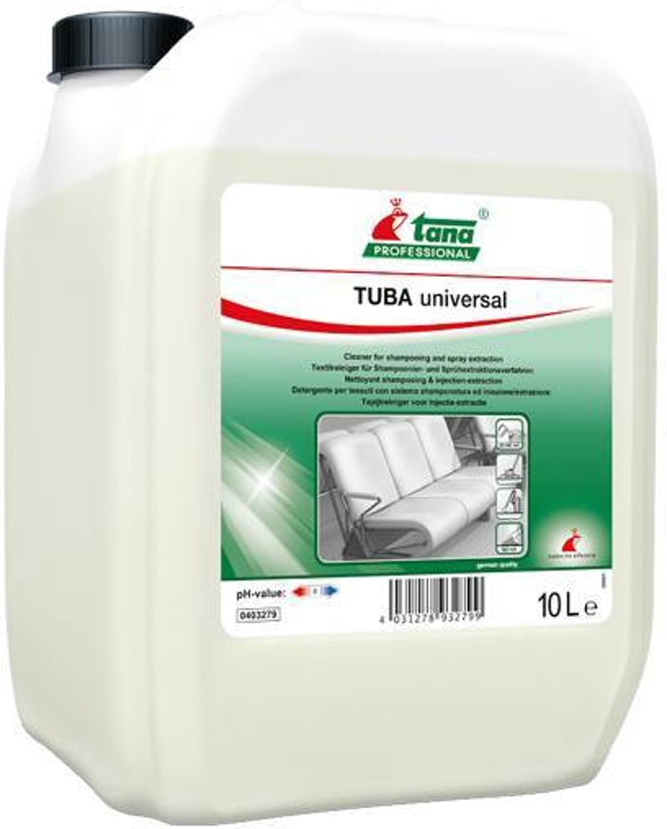 Tana TUBA universal - tapijtreiniger - 10 L