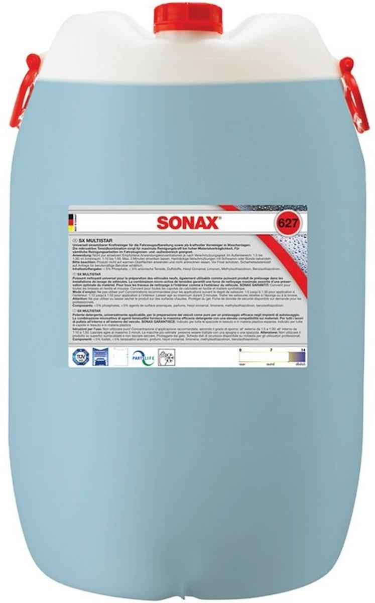 Sonax SX Multistar allesreiniger 60 liter (627.800)