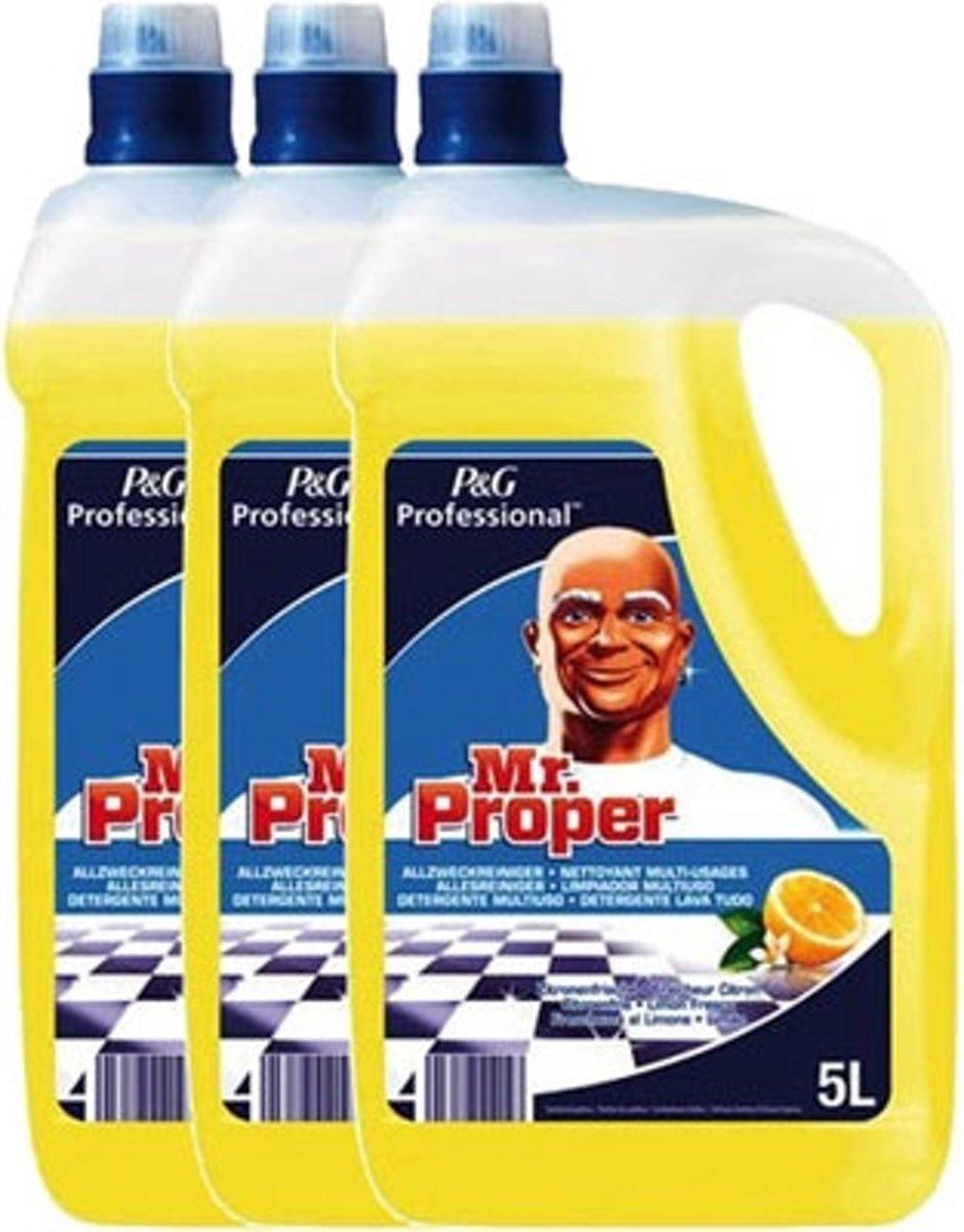 3 x Mr. Proper Allesreiniger Citroen - 5L
