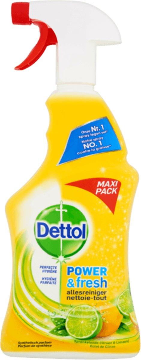 Dettol Allesreiniger Spray Citroen & Limoen - Maxi Pack - 750 ml