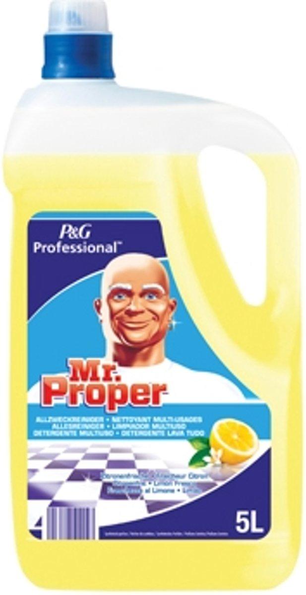 Mr. Proper allesreiniger citroen fles van 5 liter
