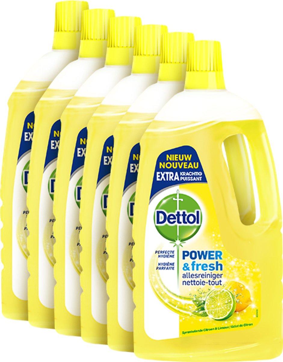 Dettol Allesreiniger Citrus - 6 x1 liter