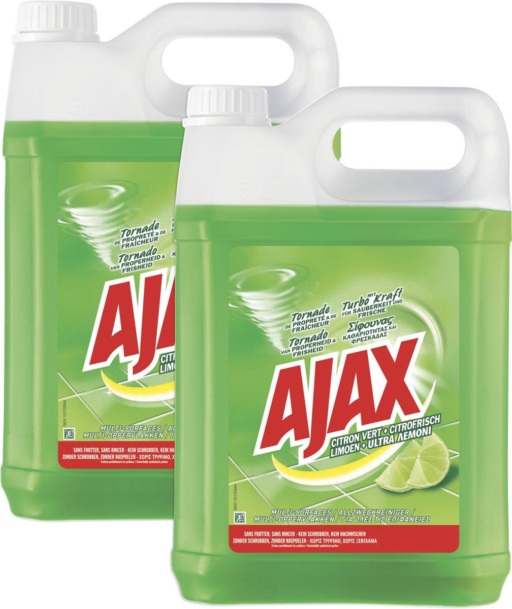 Ajax Limoen allesreiniger 2 x 5L