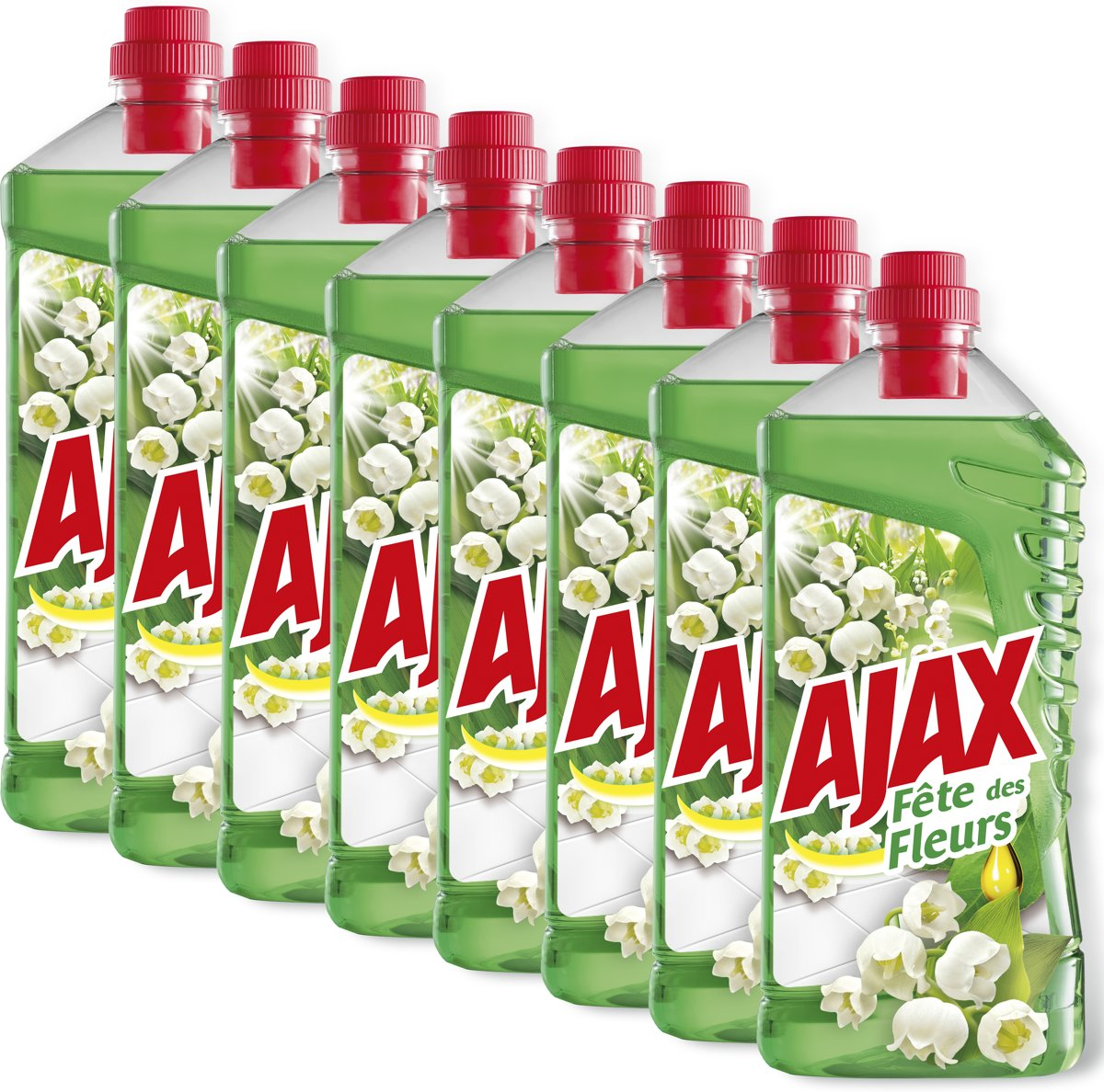 Ajax F?te des Fleurs Lentebloem allesreiniger 8 x 1L