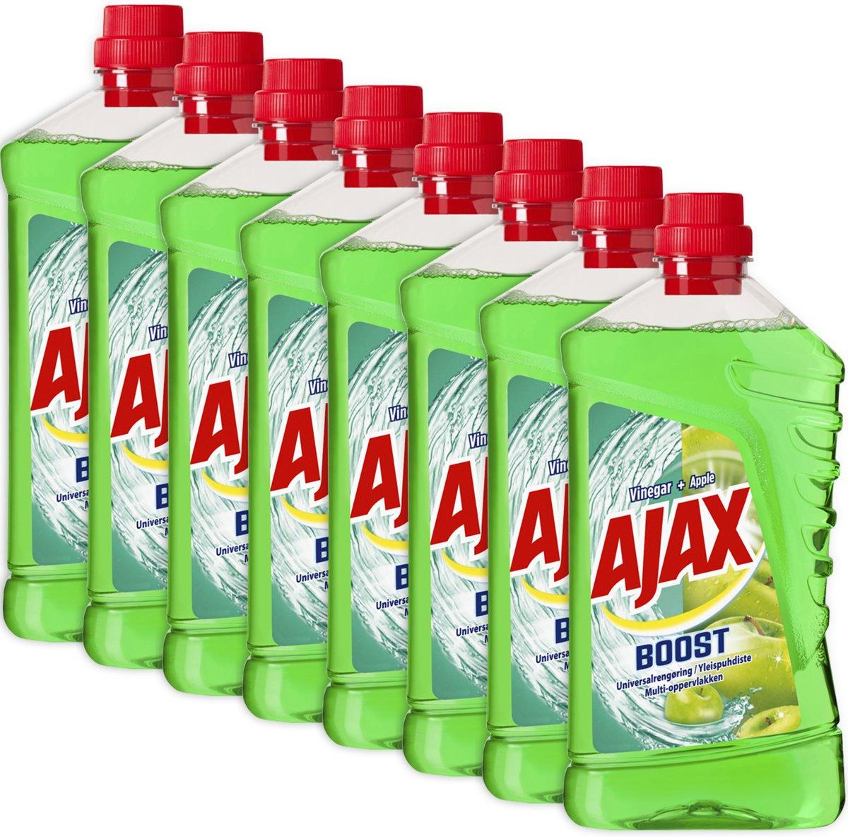 Ajax Boost Azijn & Appel allesreiniger 8 x 1L