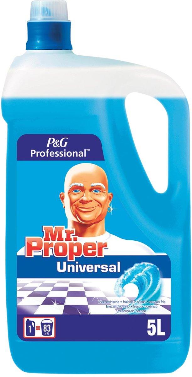 Mr Proper allesreiniger, oceaan, 3 x  5 liter