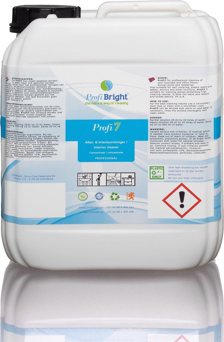 Interieurreiniger & Allesreiniger Profi7 5 liter - ProfiBright