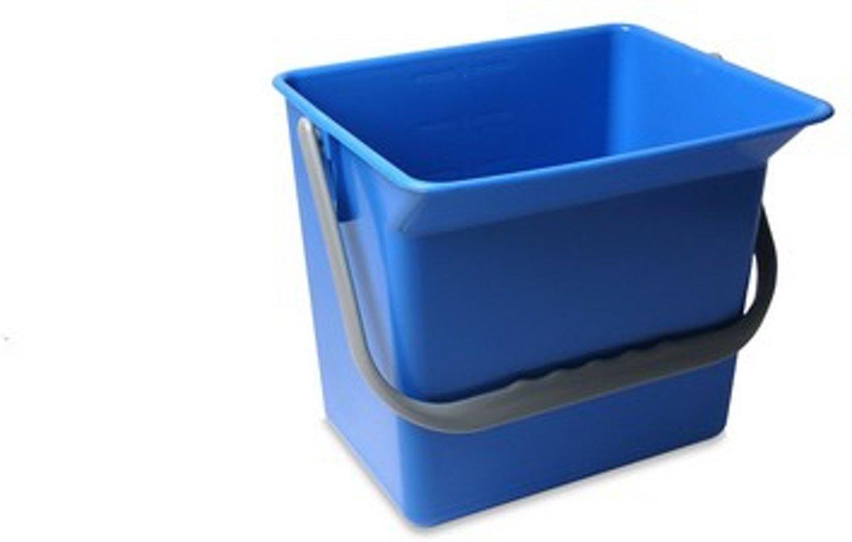 Wecoline Emmer 6L - Voor mopwagen - Blauw