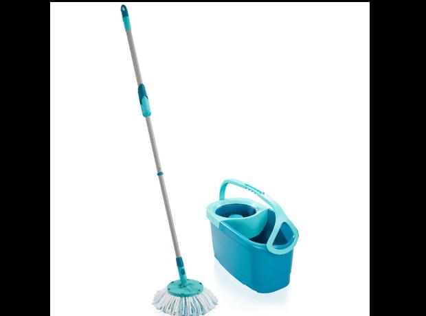 LEIFHEIT Dweilsysteem Set Clean Twist Disc Mop Evo vloerwisser