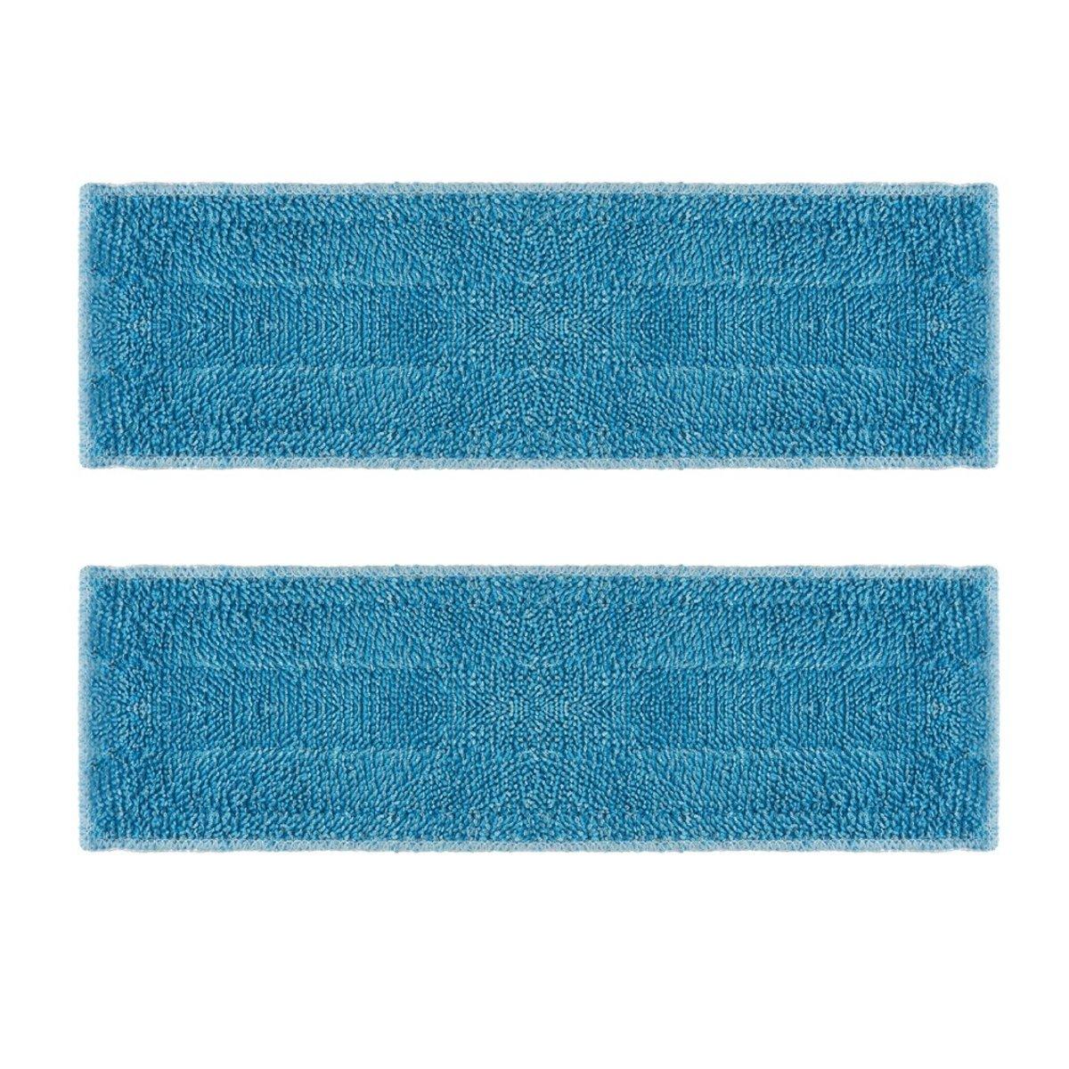 Polti PAEU0342 Kit de 2 Serpilli?res en Microfibre Compatible avec MOPPY Cloth pads