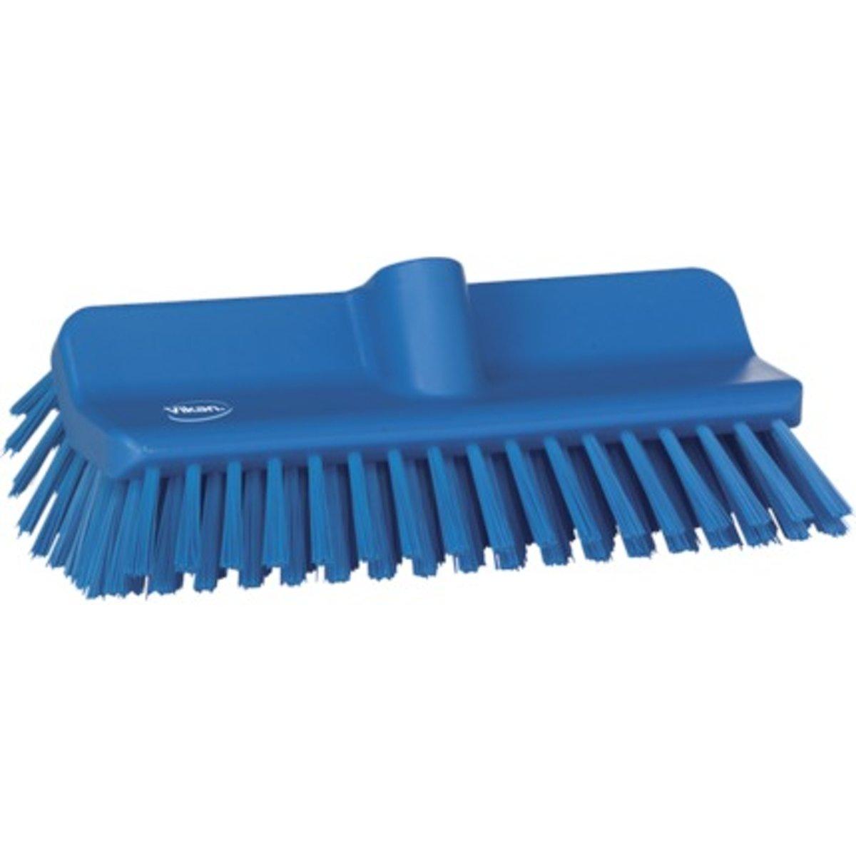 Vikan Hoekschrobber met medium harde polyester vezels blauw - 70473