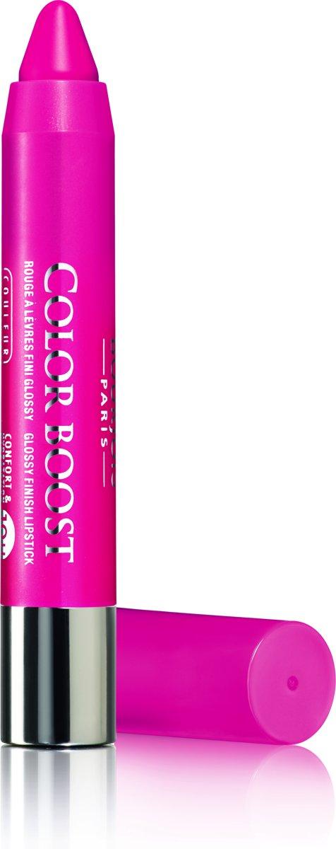 Bourjois Color Boost - 02 Fuchsia Libre - Lippenbalsem