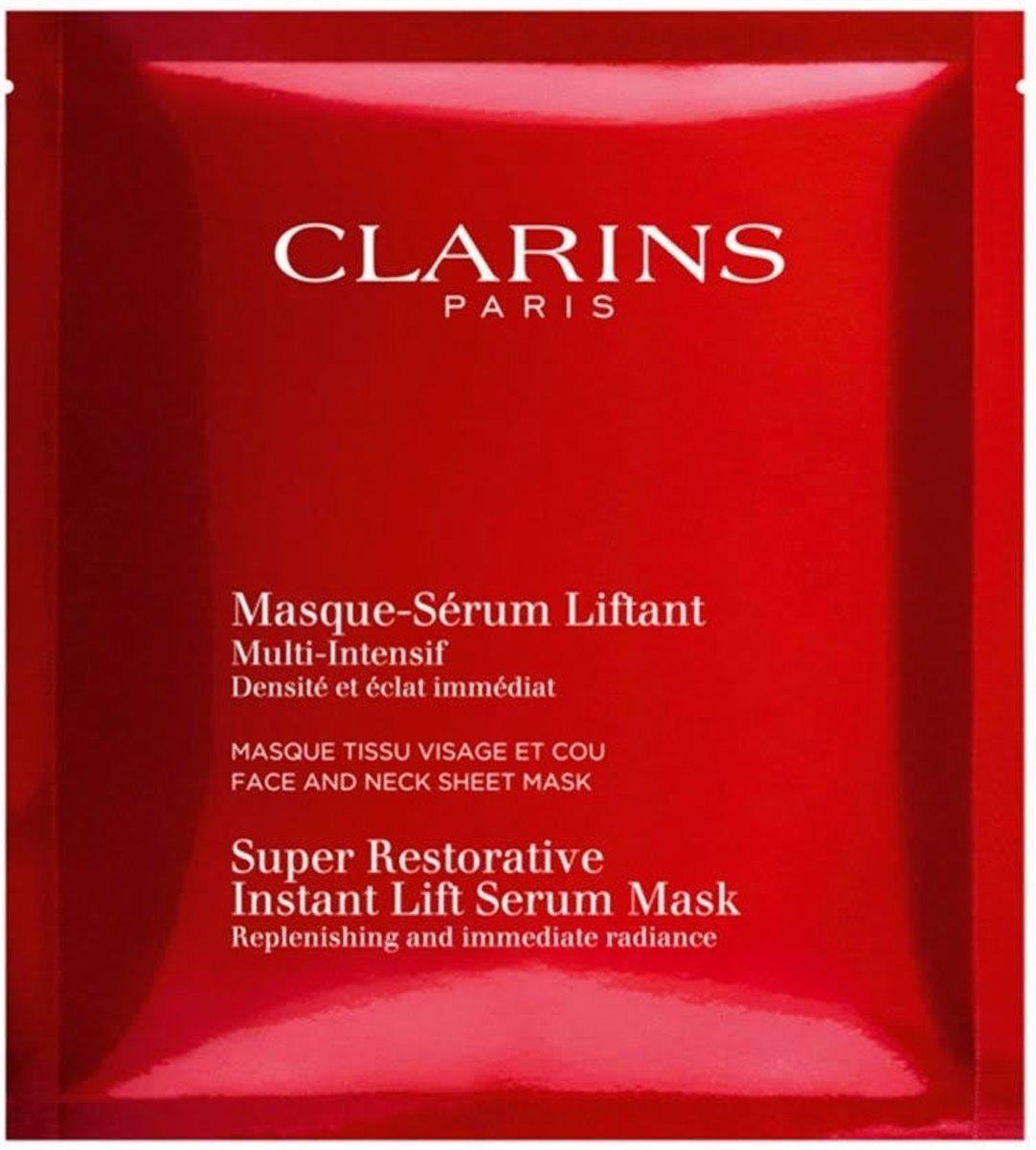 Clarins Multi-Intensive Masque-S?rum Liftant Masker - 5 stuks - Gezichtsmasker
