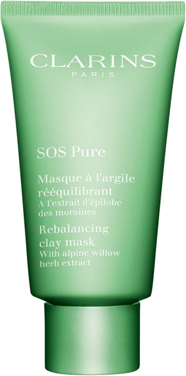 Clarins SOS Pure Masque Masker - 75 ml - Gezichtsmasker