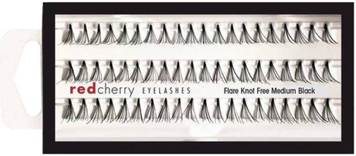 Red Cherry Lashes - Individual Lashes - Medium Black