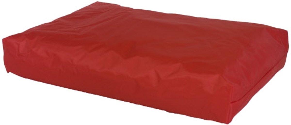 Comfort Kussen Hondenkussen nylon 100 x 70 x 15 cm - Rood