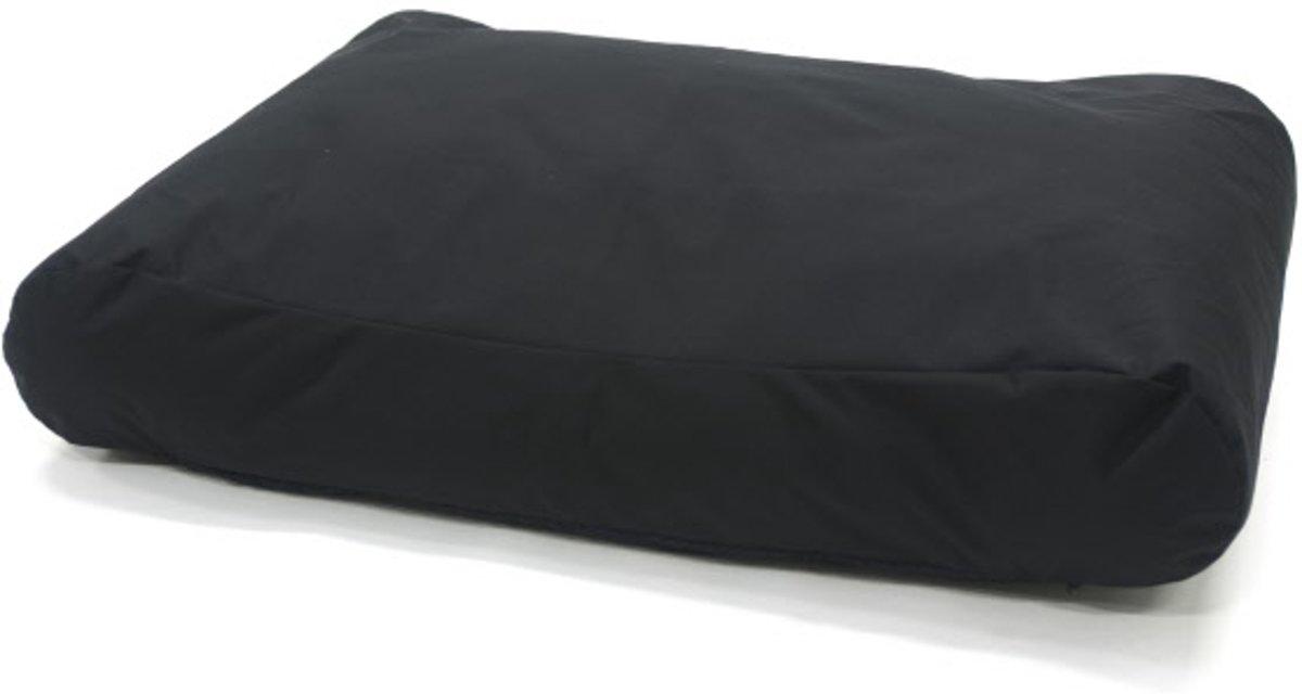 Comfort Kussen Hondenkussen All Weather antislip maat 80 x 55 cm - Zwart