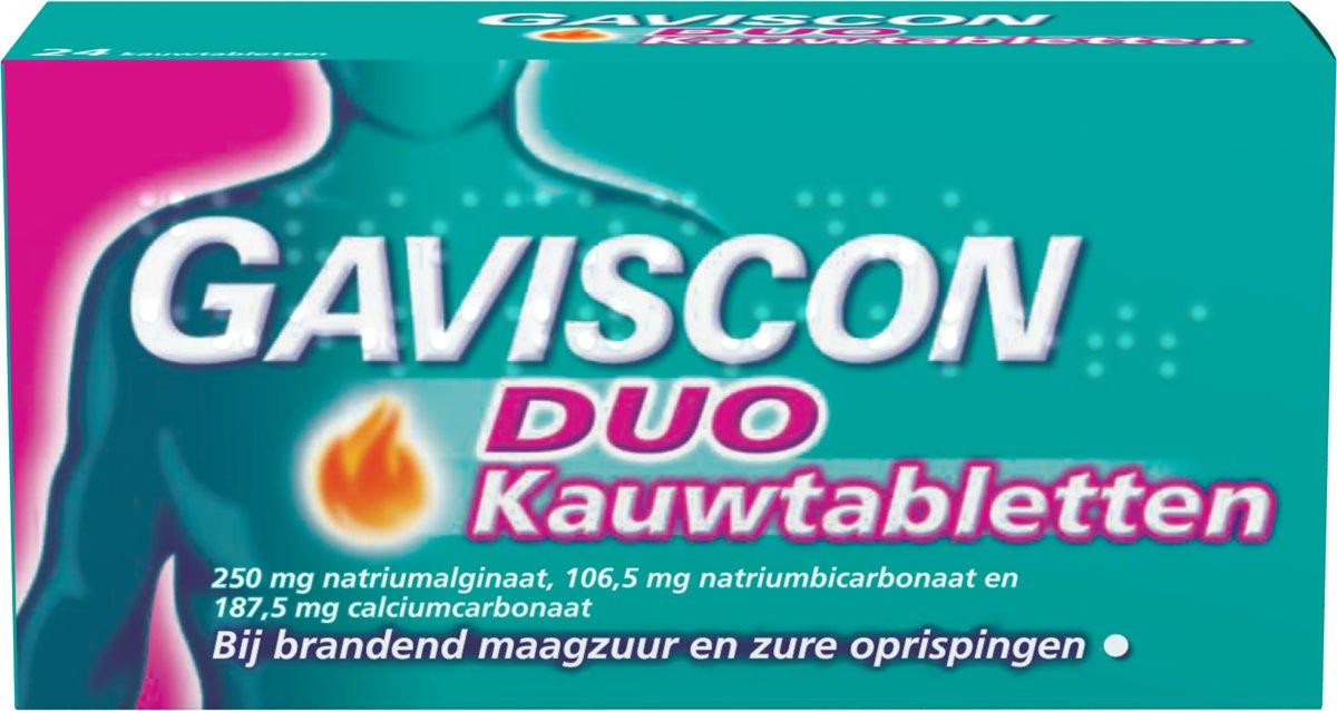 Gaviscon Gaviscon Duo Tabletten Av Rb 24ktb