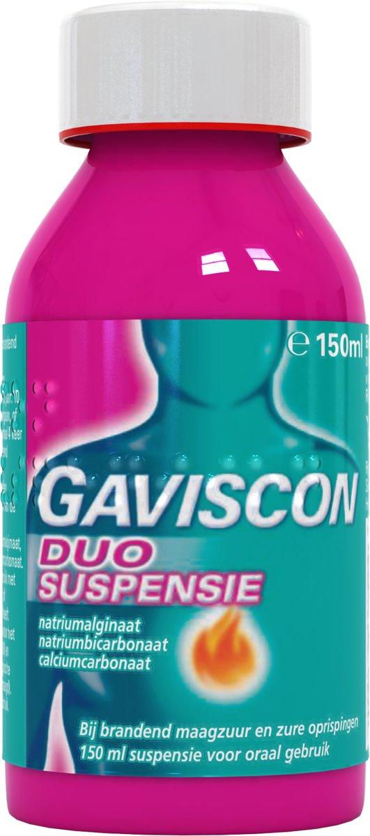 Gaviscon Duo Suspensie - Maagzuurremmer - 150 ml