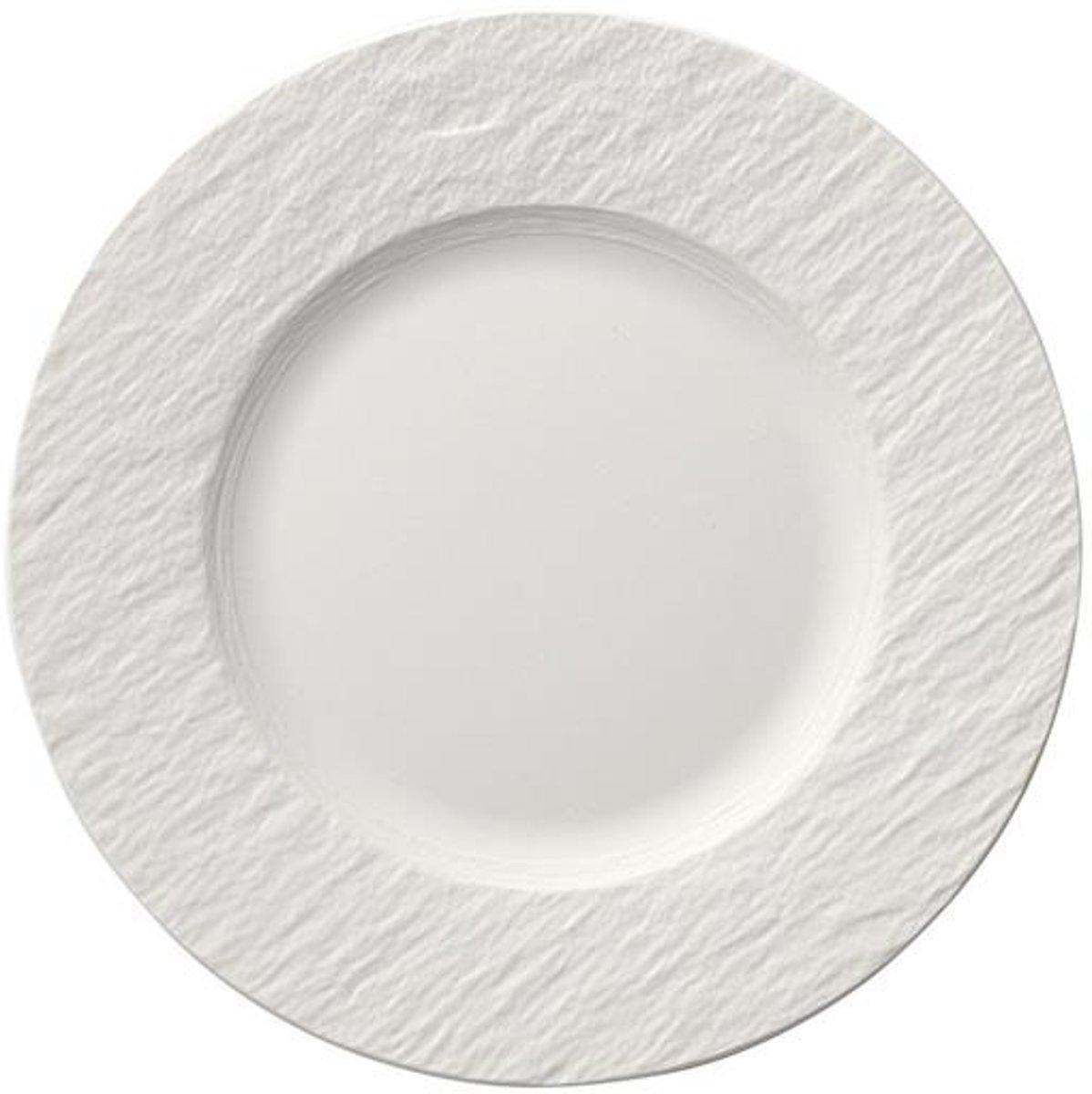 Villeroy & Boch - Manufacture Rock blanc Ontbijtbord