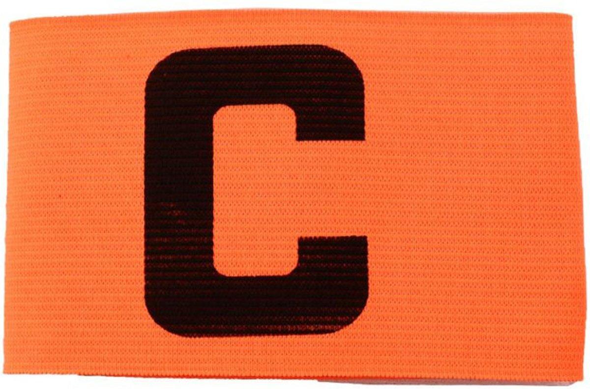 Aanvoerdersband Captainsband - C - Captain Aanvoerder Band - Voetbal Hockey - Fel Oranje - Senior