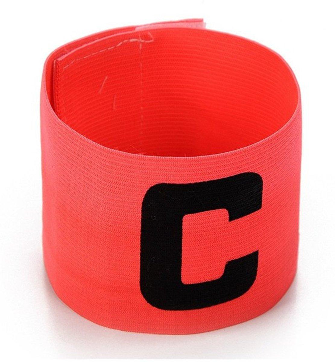 Aanvoerdersband Captainsband - C - Captain Aanvoerder Band - Voetbal Hockey - Roze - Senior