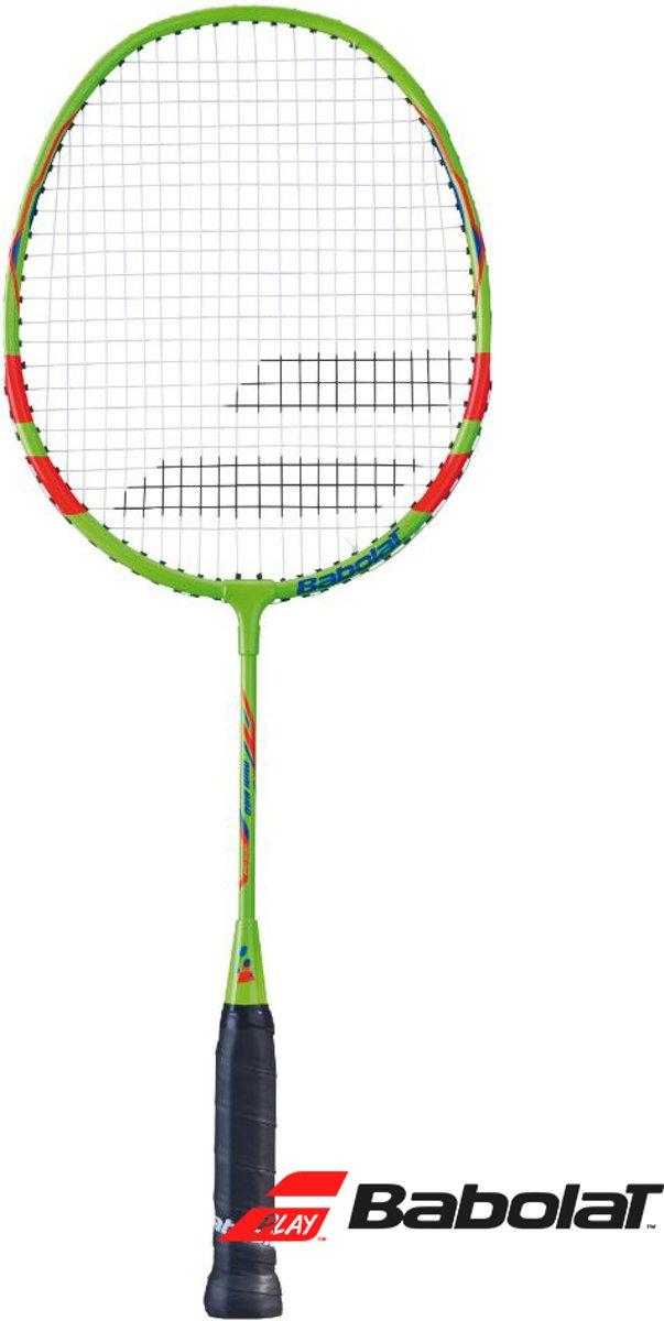 Babolat Mini badmintonracket - 54cm - groen