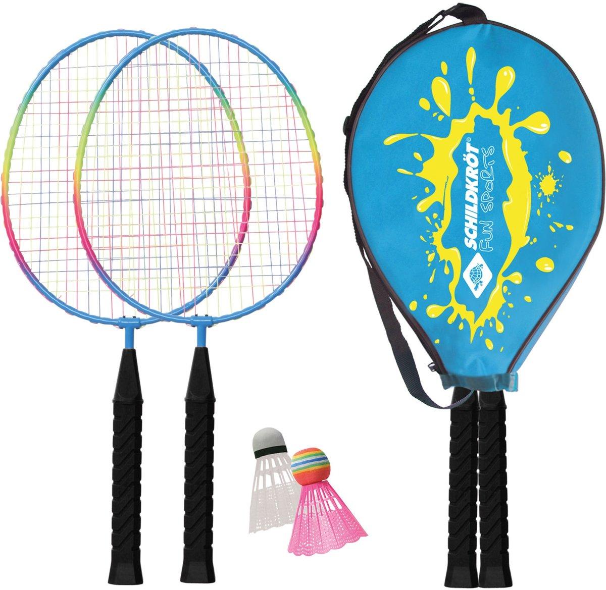 Donic Schildkr?t Badmintonset 4-delig Blauw