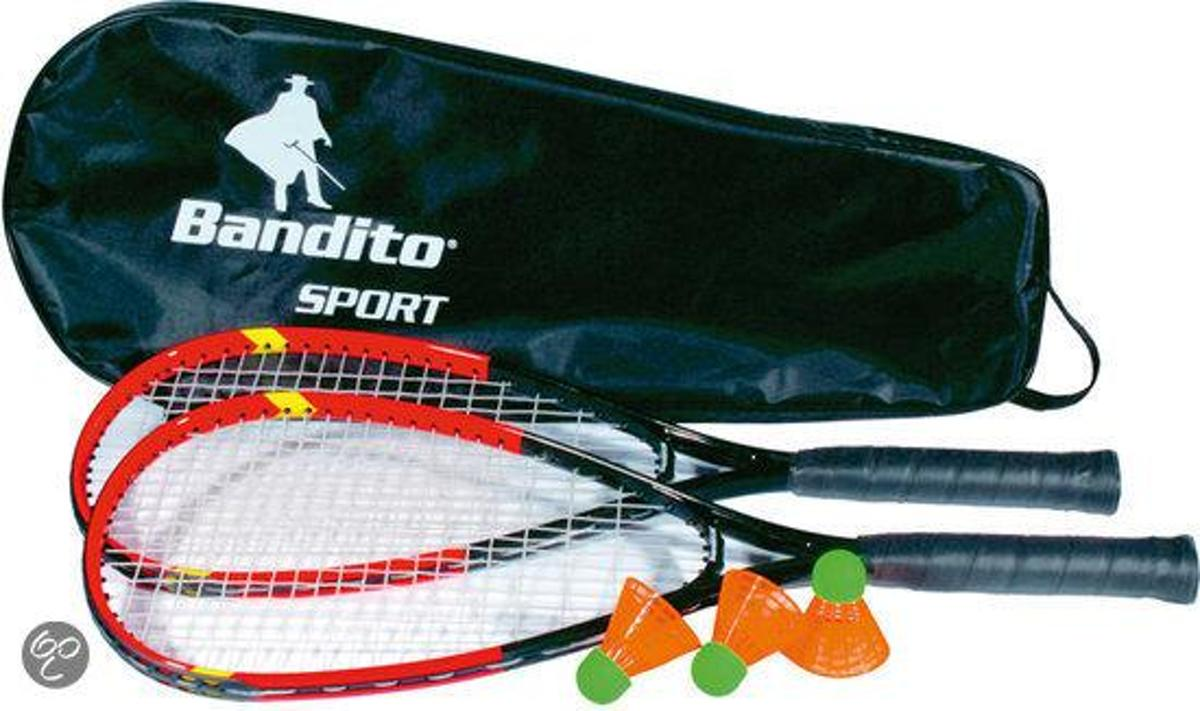 Bandito - fast shuttle Badminton Set