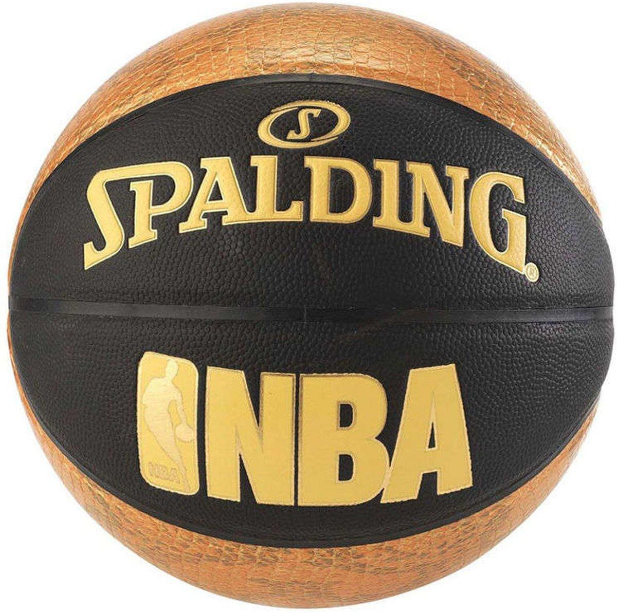 Spalding Snake Basketbal - maat 7 - oranje/zwart/goud