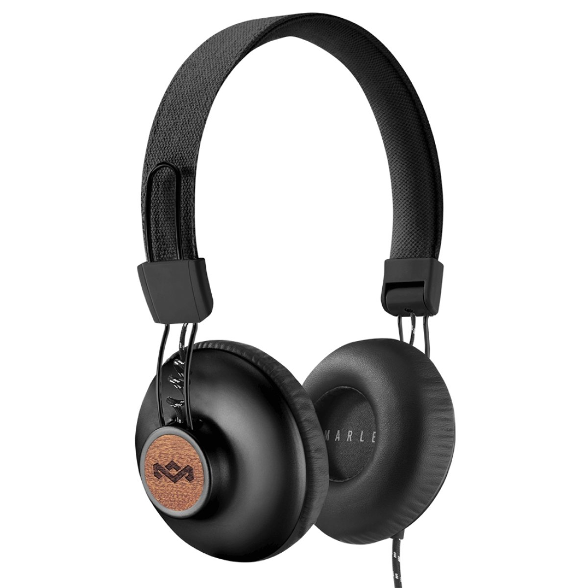 House of Marley Positive Vibration 2.0 - Bedrade on-ear koptelefoon - Signature black