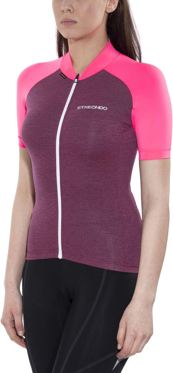 Etxeondo Maillot M/C Terra Fietsshirt korte mouwen Dames roze Maat L