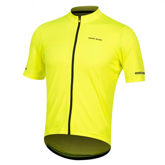 Pearl Izumi fietsshirt Tempo heren polyester geel maat S
