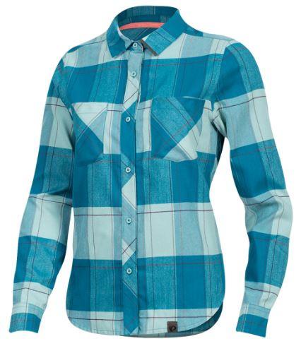 Pearl Izumi fietsshirt Rove dames polyester blauw